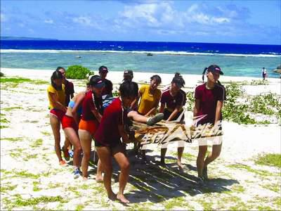 海岛野外生存课程
